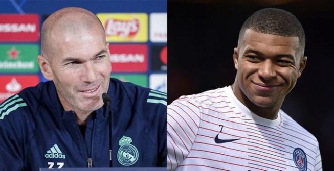 Réal Madrid-PSG: La folle déclaration d'amour de Zidane à Kylian Mbappé