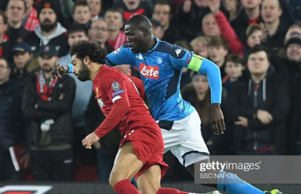 Ligue des champions : Naples neutralise Liverpool à Anfield, Koulibaly « monstrueux »