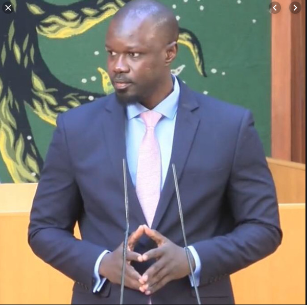 """Ousmane Sonko """"Il y'a du Blanchiment d'argent à l'assemblée Nationale"""""""