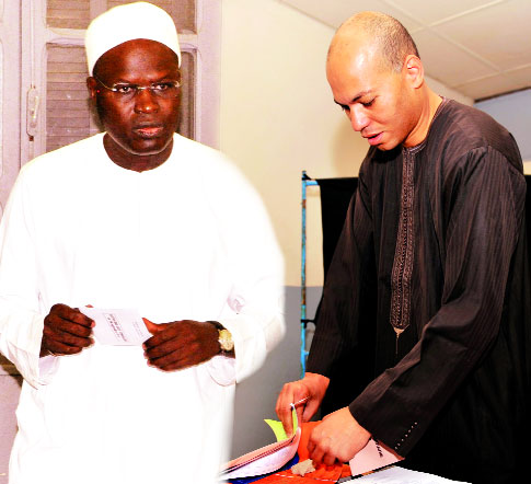 Assemblée nationale: des députés demandent le rétablissement de Karim Wade et Khalifa Sall dans leurs droits