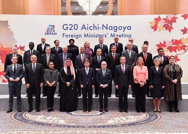 Amadou BA décline à la réunion des Ministres des Affaires étrangères du G20 la vision du Président Macky SALL pour le développement de l'Afrique