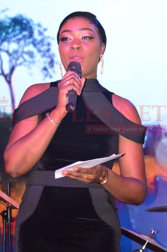 Soirée Coumba Gawlo: La robe chic et glamour de Khady Ndiaye Bijou qui illumine la toile