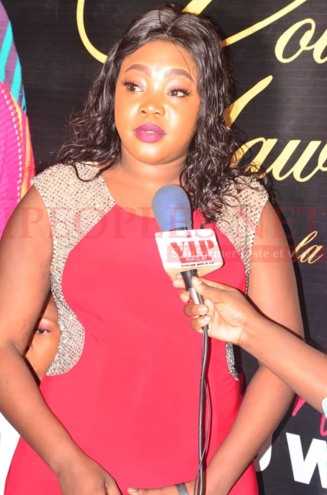 Sarah, la fille de Ndella Madior Diouf sur les traces de sa mére au gala TERROU WAR TOUR de la Diva Gawlo.