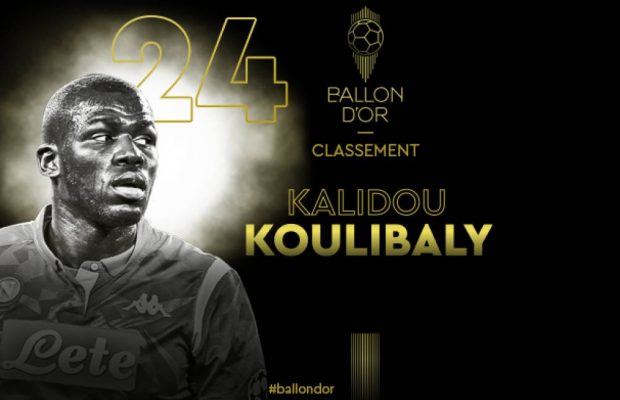 Le Ballon d'Or 2019 en direct : Kalidou Koulibaly 24e
