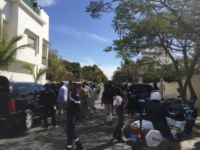 Une quantité importante de gasoil déversé près de Chez Macky Sall à Mermoz : Les populations s'interrogent de la motivation des « auteurs »