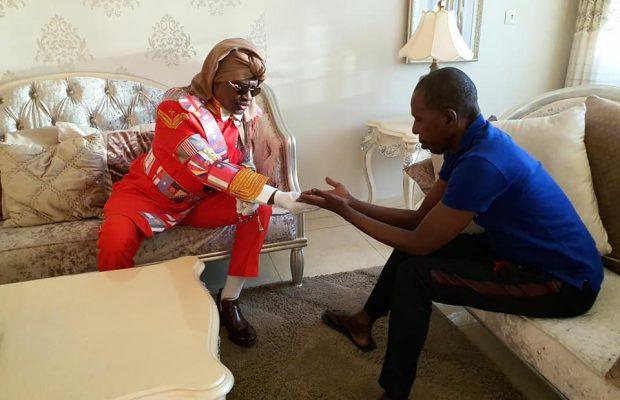 Serigne Modou Kara rend visite à Cheikh Amar