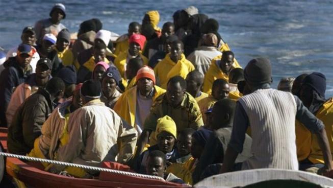 Migration vers l'Europe: Une pirogue à son bord 140 personnes interceptée vendredi en Mauritanie