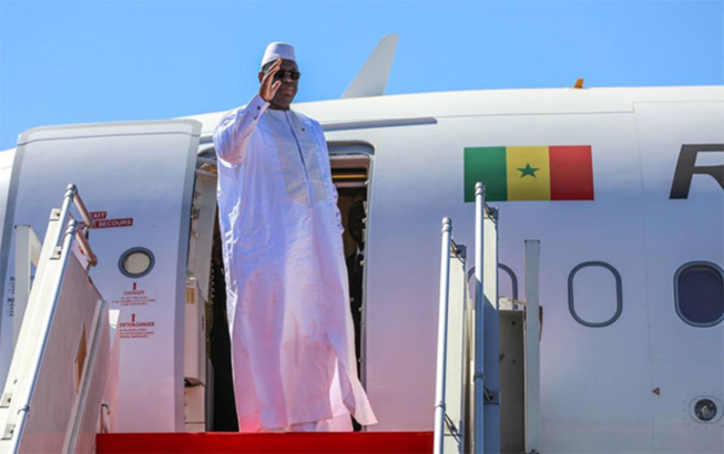 Macky quitte Dakar ce mardi pour Assouan et Sharm El Sheikh