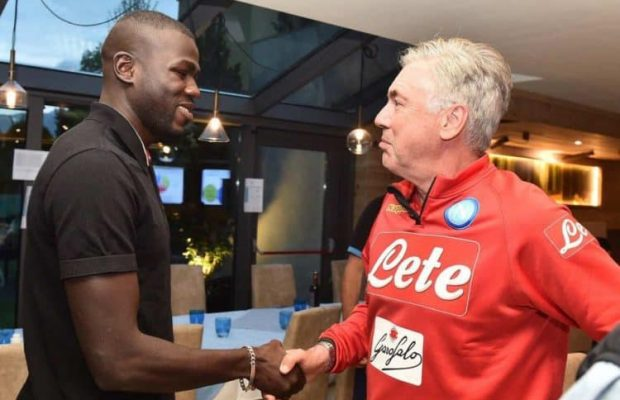 Quelques minutes après avoir qualifié Naples pour les 8es de finale de la Ligue des champions: Naples : l'entraîneur de Koulibaly limogé