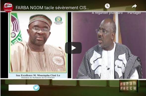 Farba Ngom : « Comment Moustapha Cissé Lô détournait l'argent du parlement de la CEDEAO »