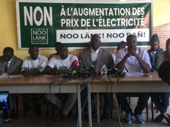 """Place de l'Indépendance : le collectif """"Noo Lank"""" déchire l'arrêté du Préfet de Dakar et maintien son sit-in"""