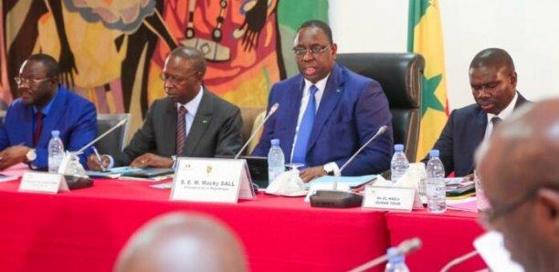 Communiqué du Conseil des Ministres du 2 janvier 2020