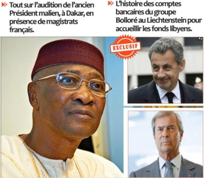 Financement libyen de la campagne de Sarkozy: Les confidences de l'ancien président malien ATT à la Dic