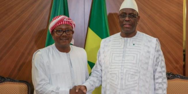 Le chef de l'Etat Macky Sall a reçu aujourd'hui Umaro Sissoco Embalo