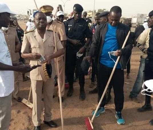 Cleaning Day à Kaolack : Les responsables politiques du pouvoir aux abonnés absents