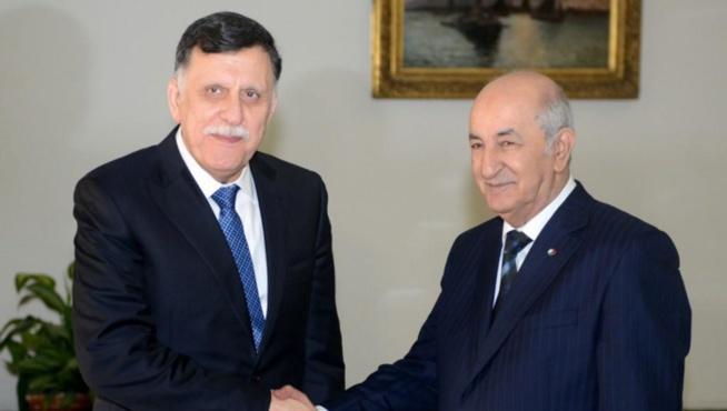 Libye: l'Algérie reçoit el-Sarraj et le ministre turc des Affaires étrangères