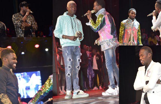 Sidy Diop montre à Ngaaka son talent de rappeur ,Bass Thioung , Elj Keita, Momo Dieng et Pama Dieng