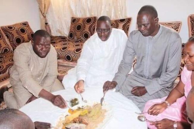 Souvenir: Moustapha Diakhaté et Macky SALL autour d'un bol en 2012