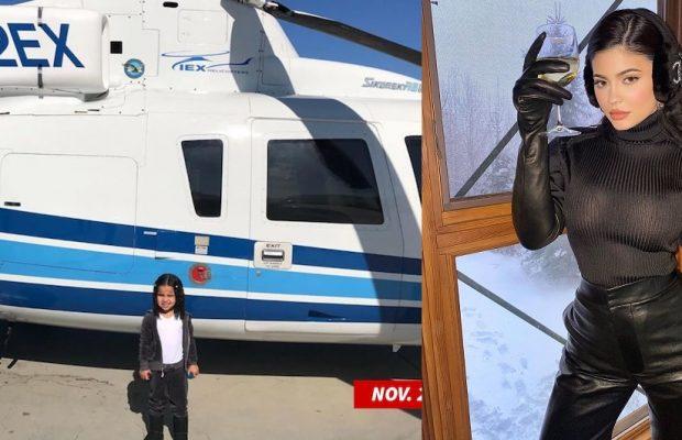 Kylie Jenner volait souvent à bord de l'hélicoptère de Kobe Bryant
