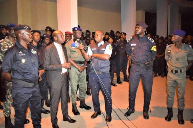 Opération de sécurisation : 479 individus interpellés entre Dakar-Touba et Kaolack
