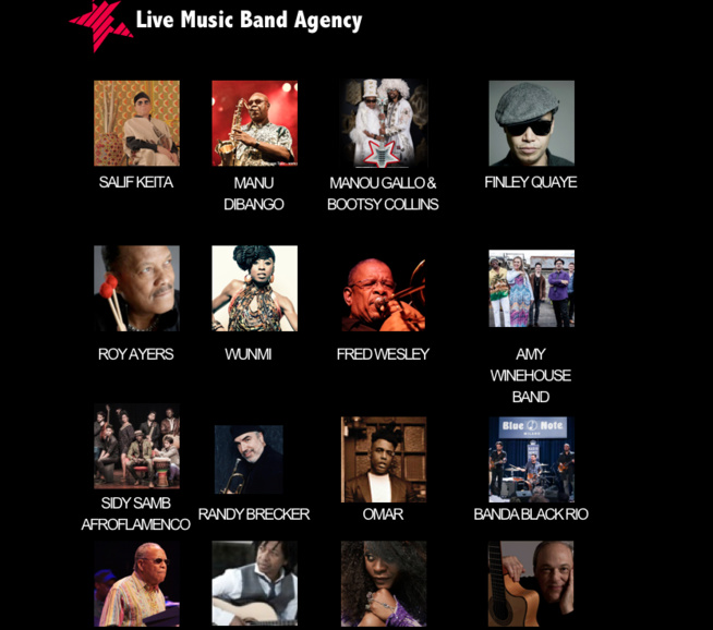 Sidy Samb signe avec l'agence Live Music Band de Londres pour sa collaboration avec New African Production.