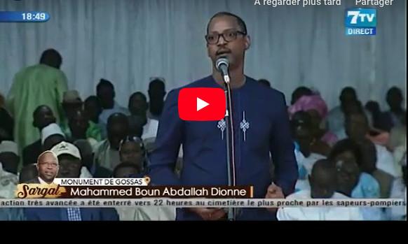 """Mame Boye DIAO à Mahammed Boun Abdallah DIONNE: """"Vous ne devez pas vous taire parce que..."""""""