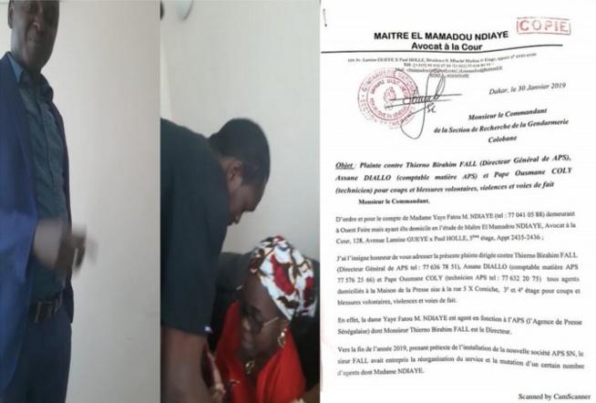 Affaire APS: Yaye Fatou Mbaye et Fatou Diop Wade licenciées, Bamba Kassé suspendu