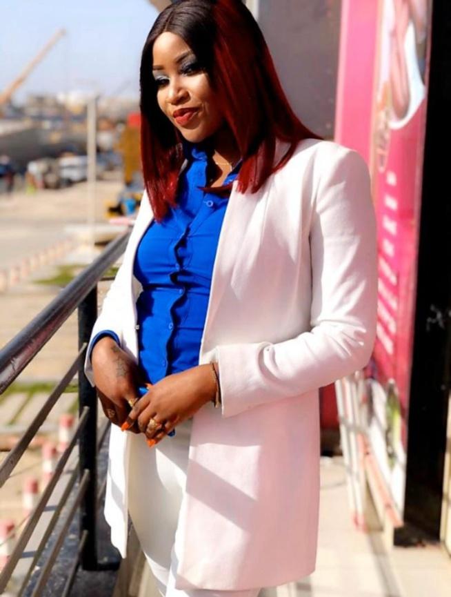 Khadija Ndiaye, la fille de Patra et animatrice à la 2stv se dévoile, dans un nouveau style