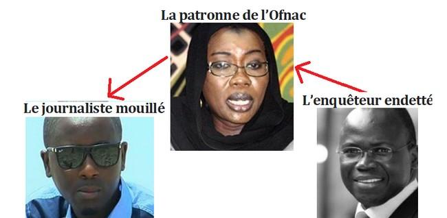 Le Complot Entre Nafi Ngom Kéita Et Pape Alé Dévoilé…Un Mail Au Cœur De L'enquête
