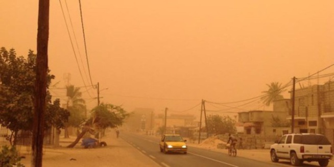 Alerte: 39 à 40 degrés pour le Sud et le Centre du pays, de la poussière dans le Nord-Est