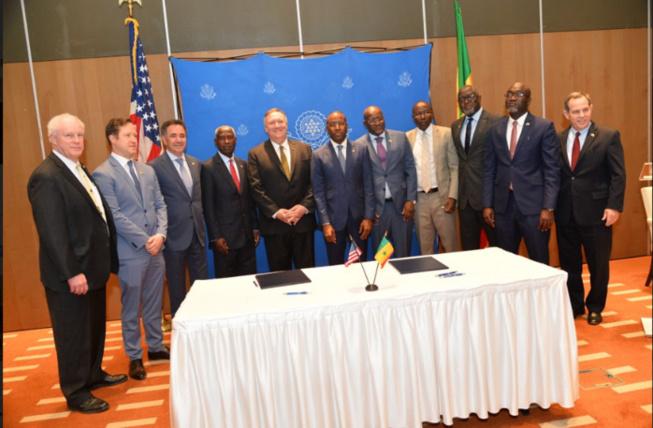Visite de Mike Pompéo à Dakar: cinq accords de partenariat signés