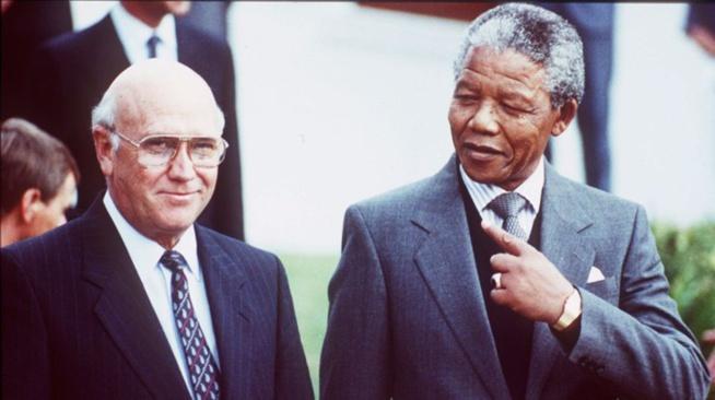 Fréderic de Klerk fait son mea-culpa sur l'apartheid en Afrique du Sud
