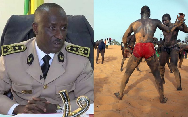 VIDÉO:  Djiby Diallo,le sous- préfet de DAKAR dit «Niete» aux lutteurs de ne plus s' entraîner dans les écoles