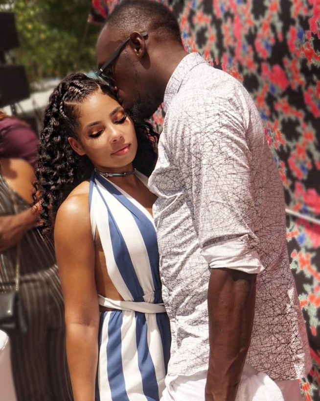 Les photos torrides de Bolt et sa petite amie explosent internet…
