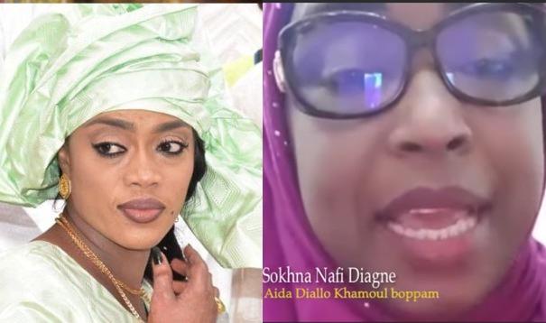"""Video : Sokhna Nafi Diagne Attaque sévèrement Sokhna Aida Diallo : """"Khamo Sa Bopp"""""""