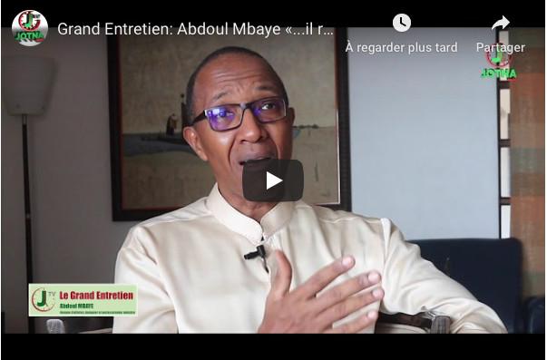 """Abdoul Mbaye alerte: """"Il risque d'y avoir de graves troubles dans le pays"""""""