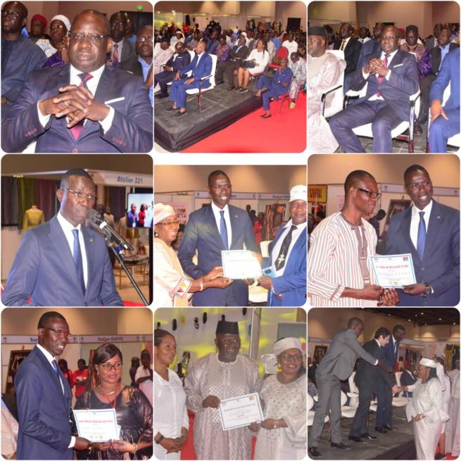 CLOTURE DU SIAD 2020: Les images  du Salon International de l'Artisanat de Dakar devant le ministre Dame Diop et Mbaye Dieye Faye