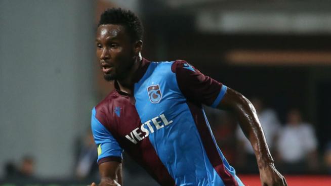 Coronavirus: John Obi Mikel résilie son contrat avec Trabzonspor