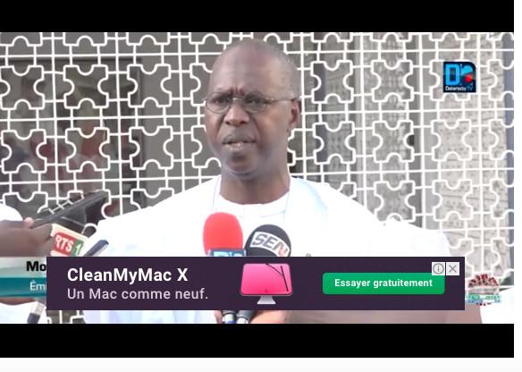 """Boun Abdallah Dionne clôt le débat: """"C'est le Président Macky Sall qui m'a envoyé à Touba..."""""""