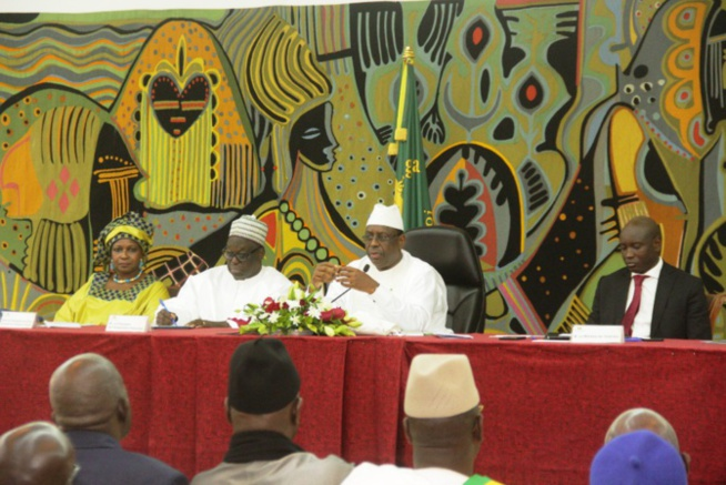 Covid-19: Ousmane Sonko, Idrissa Seck et Khalifa Sall reçus par le Président Macky Sall