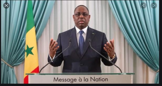 Direct Discours du Président de la République Macky SALL décrète l'état d'urgence