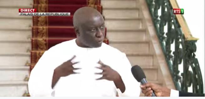 🔴En Direct / COVID19 - Idrissa Seck au palais de République