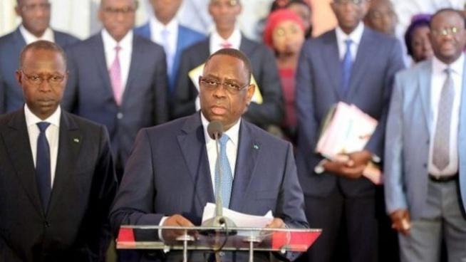 Riposte au Covid-19 : Le Président Macky SALL ponctionne 1 million sur le salaire de chaque ministre