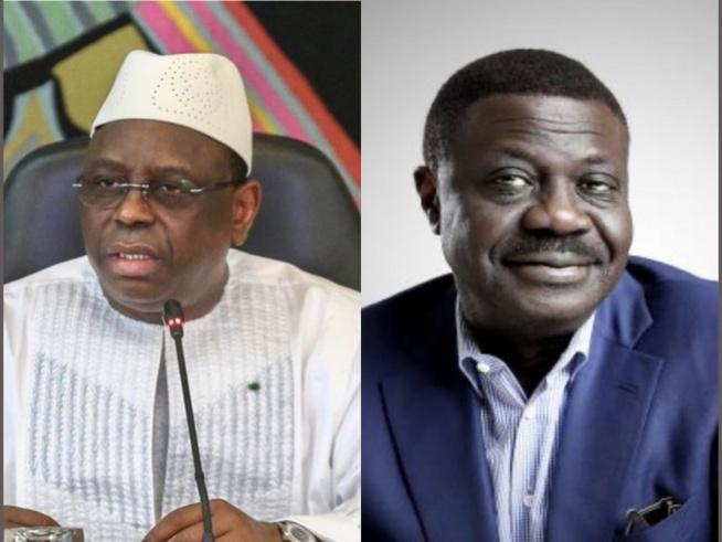 """Décès de Pape Diouf: Le Président Macky Sall """"rend hommage au corps médical de l'Hôpital de Fann"""""""