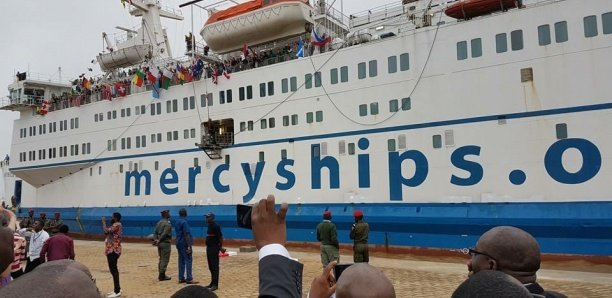 Dernière minute-Coronavirus : Le bateau-hôpital Mercy Ships quitte le Sénégal