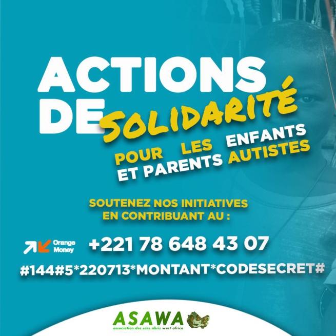 Contribution ASWA SENEGAL sur la Journée Mondiale de l'autisme