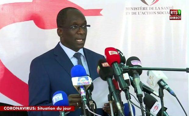 Suivez le point de situation sur la Covid-19 au Sénégal du 03 avril (Ministère de la Santé)