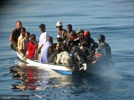 Rosso - Pour avoir convoyé des émigrés: Un piroguier arrêté