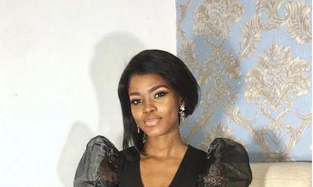 Gaelle Kibis la charmante actrice congolaise toute éclatante