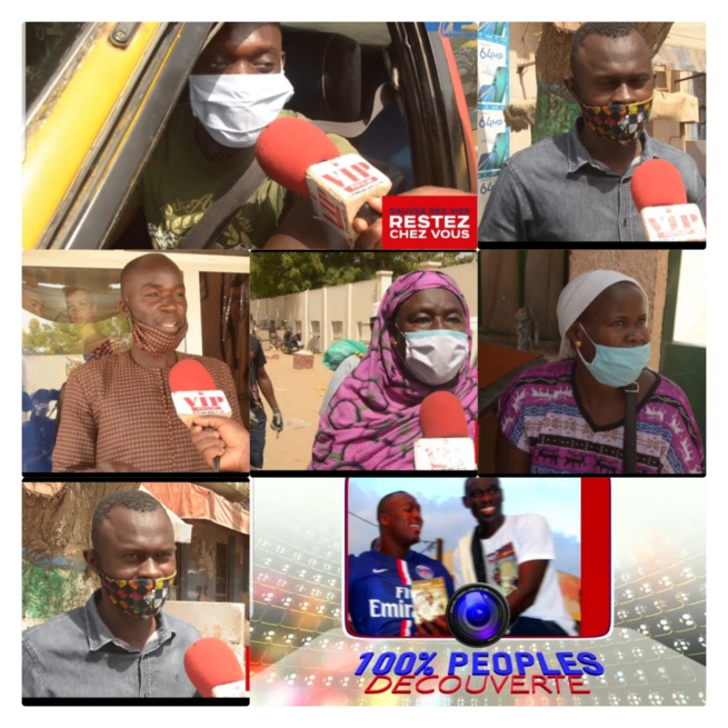 Cas communautaire, la population Niary Tally touchée Psychologiquement «baniouko degué danio tite , diakhlé ,douniou ....»